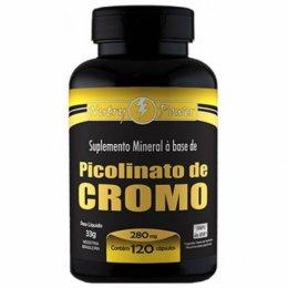Picolinato de Cromo (120 caps)