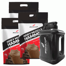 Whey Muscle Hammer (900g) - galão