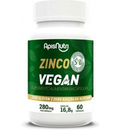 Zinco Vegan 280mg (60 caps)